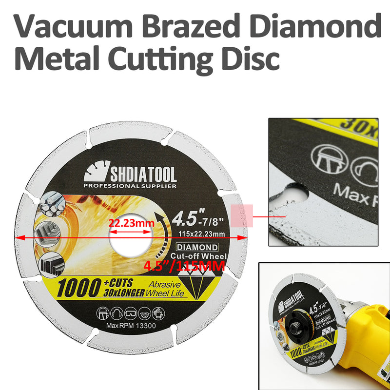 Diamond Abrasive Cut-Off Wheel for Metal - DIATOOL