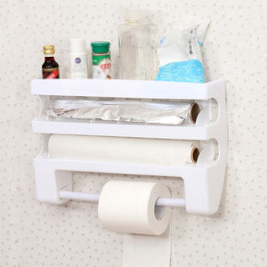 Kitchen Organizer Multifunctional Film Cutter - 1stInHealth