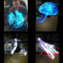 Load image into Gallery viewer, 3D Hologram Advertising Display Fan - 1stInHealth