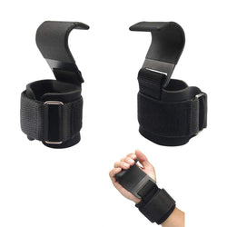 Weight Lifting Hook Grips - 1stInHealth