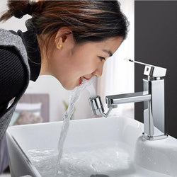 720 Degree Swivel Sink Faucet Aerator - 1stInHealth
