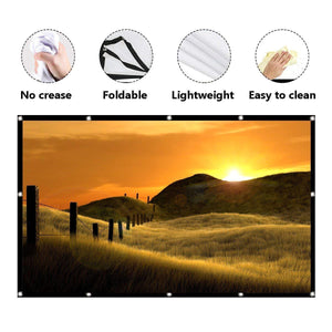Flex Projector Screen - 1stInHealth