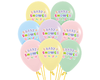 Latex Balloon Baby Shower assorted colours