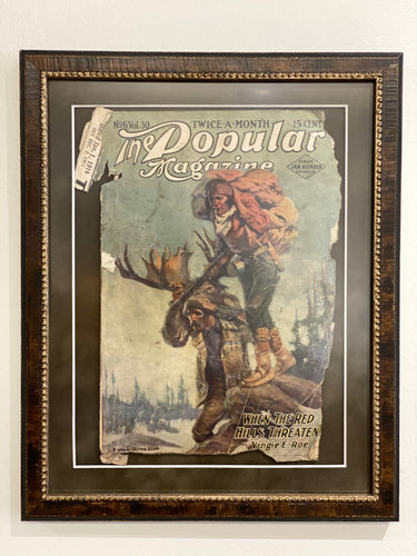 Antique Magazine Cover