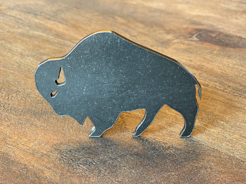 Metal Bison Bottle Opener