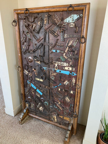 Rustic Wooden Art Panel