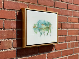 Bison Resin Wall Art