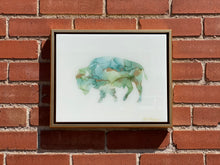 Load image into Gallery viewer, Bison Resin Wall Art