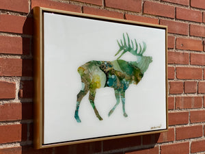 Large Moose Resin Wall Art