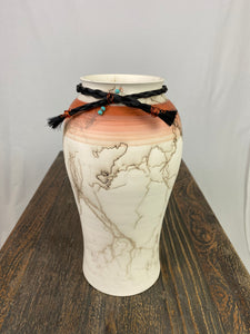 Navajo Horse Hair Vase (Tall)
