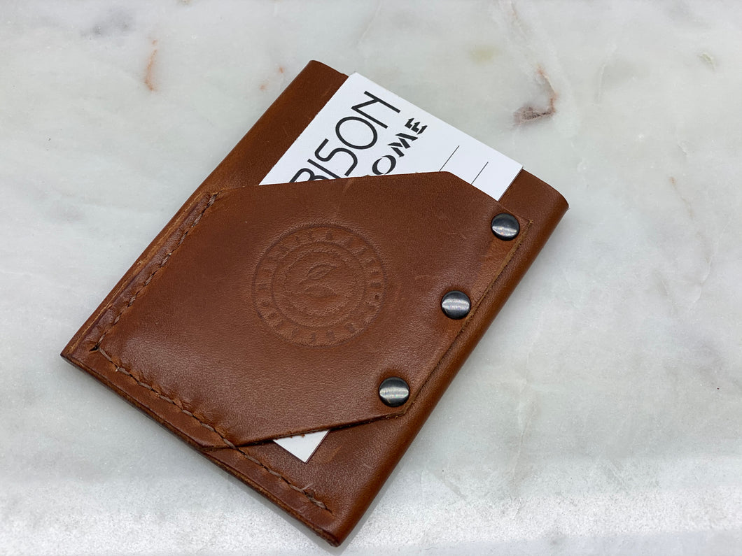 Leather Compact Wallet Md