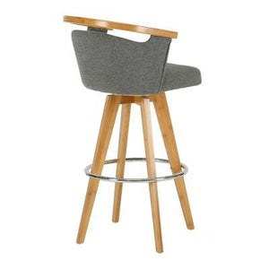 Samshu  Swivel Counter Barstool