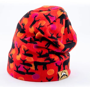 Bull and Dots Beanie