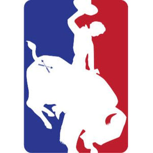 Bison Union MLB Buckin' Bison Sticker