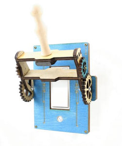 Brilliant Blue Rocker Throw Switch Plate Cover