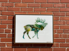 Load image into Gallery viewer, Large Moose Resin Wall Art