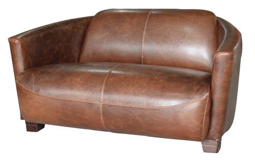 Burlingame Leather Demi Sofa
