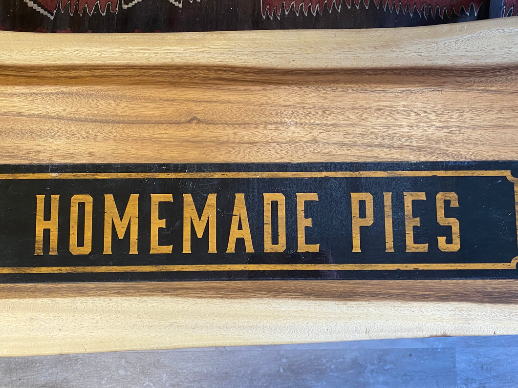 Homemade Pies Metal Sign