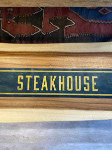 Steakhouse Metal Sign