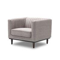 Nightingale Light Gray Accent Chair