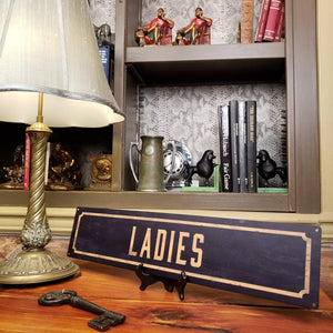 Ladies Metal Sign