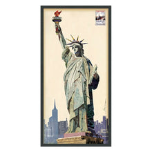 Load image into Gallery viewer, Lady Liberty Hand Made Art Collage
