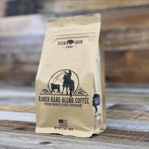 "Bison Union Coffee "" Ranch Hand"" Ground"