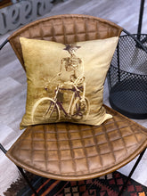Load image into Gallery viewer, Mr. Skeleton Decorative Pillow