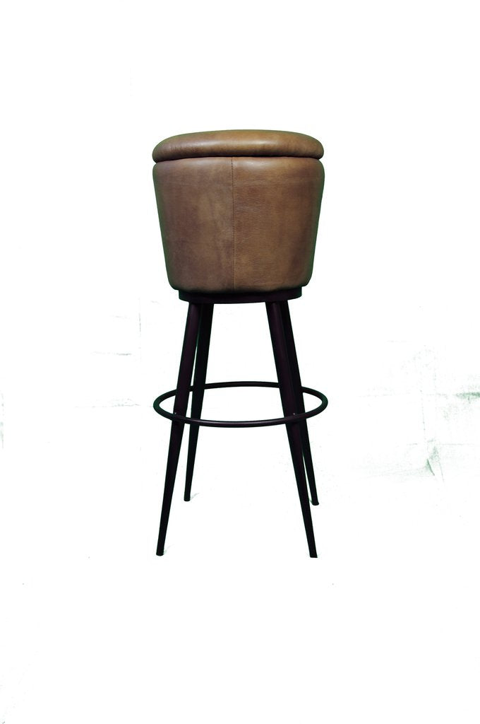 Belmont Leather Barstool
