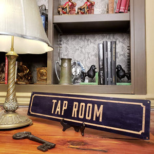 Tap Room Metal Sign