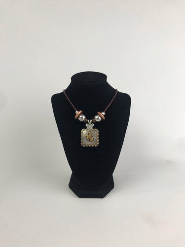 Bead Concho Necklace