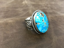 Load image into Gallery viewer, Turquoise Large Oval ring