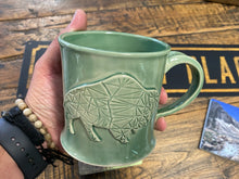 Load image into Gallery viewer, Ceramic Buffalo Mug