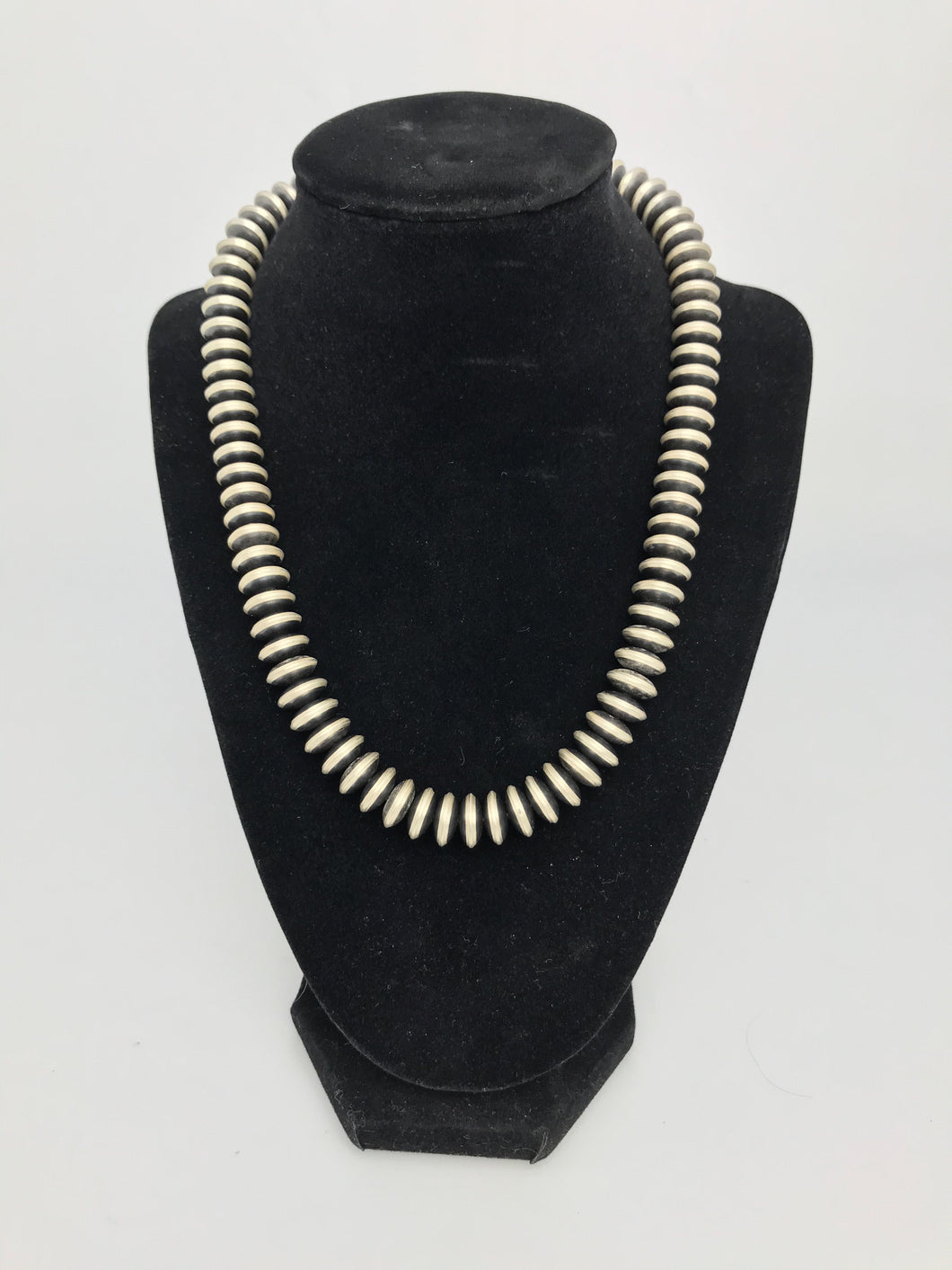 Navajo Pearl Bead Necklace-SS1901NP