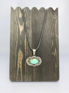 Navajo Turquoise Necklace-SS1801P