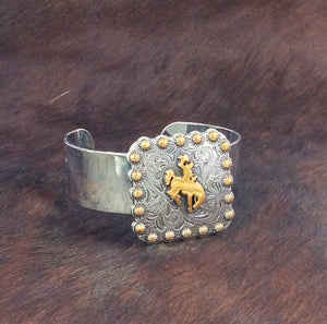 Large Steamboat Concho Small Cuff Bracelet