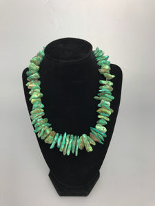 Turquoise necklace-P1925N