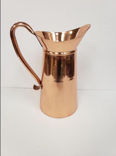 Shiny Copper Pitcher 14oz