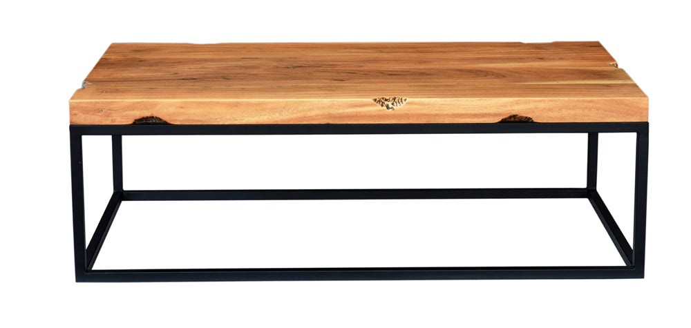 Rectangle Live Edge Coffee Table