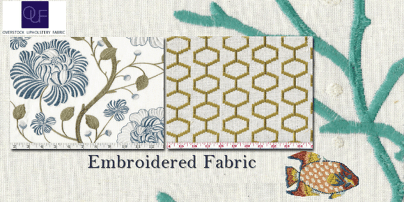 Designer Tips to Choose The Eye-Pleasing Upholstery Embroidered Fabrics