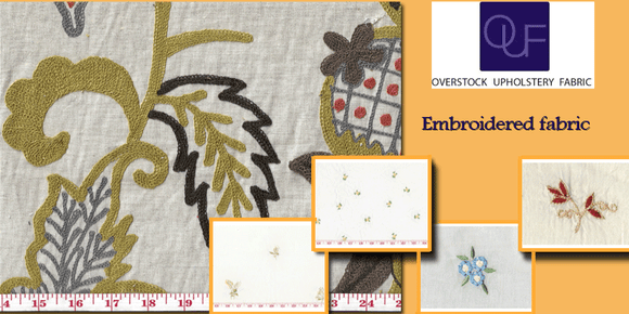 5 Common Embroidered Fabric Queries Answered