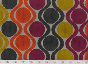 Hopover CL Confetti Velvet Upholstery Fabric by Braemore Textiles