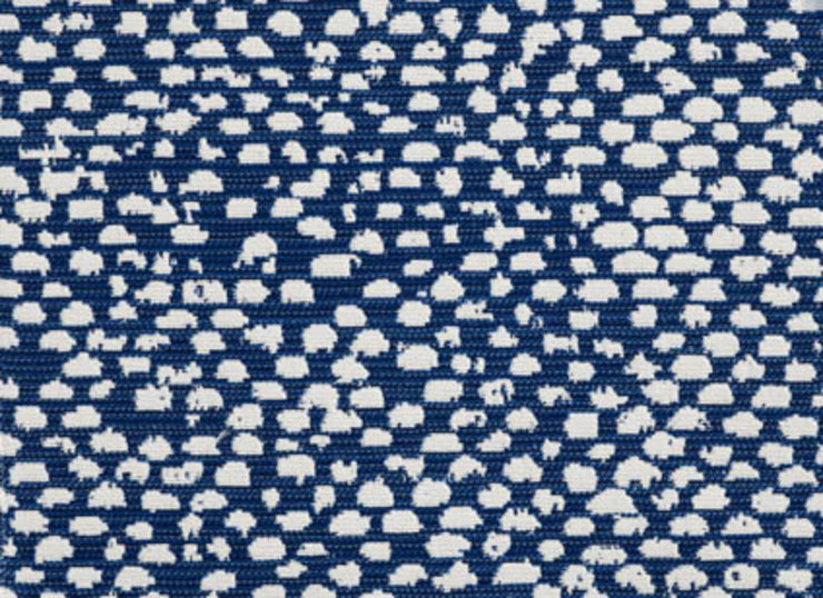 Conga CL Indigo Indoor Outdoor Upholstery Fabric by Bella Dura