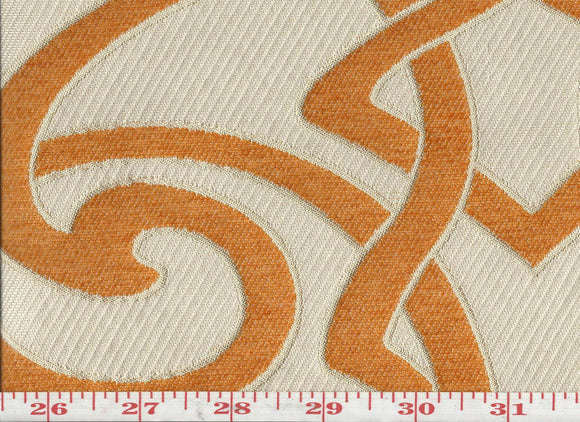 Charlotte CL Tango Upholstery Fabric by KasLen Textiles
