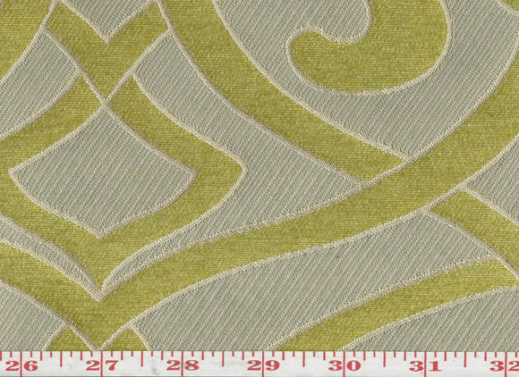 Charlotte CL Sauterne Upholstery Fabric by KasLen Textiles