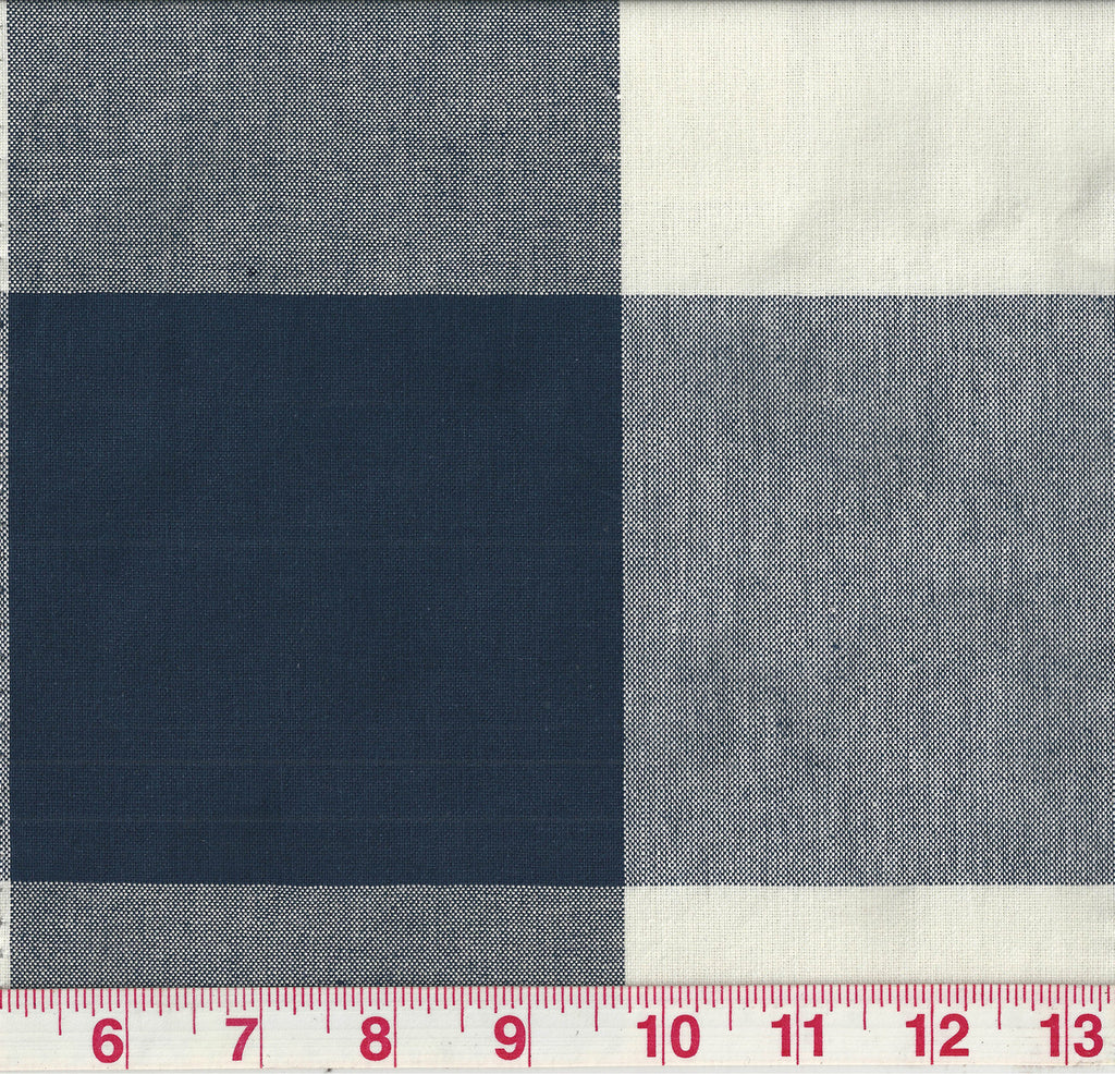 Call Me CL Navy Drapery Upholstery Fabric by P Kaufmann