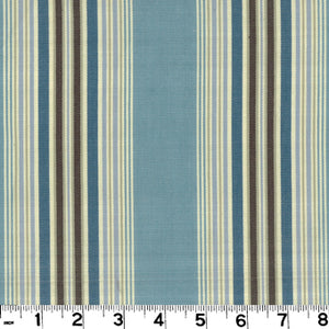 Sanibel CL Coastal Blue Drapery Upholstery Fabric by Roth & Tompkins