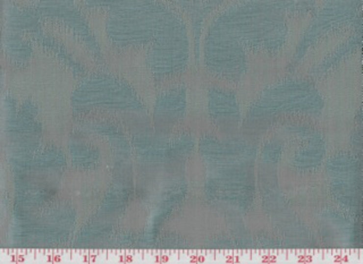 Manchuria CL Lagoon Drapery Upholstery Fabric by American Silk Mills