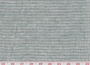 Adler Stripe CL Mint Drapery Fabric by Clarence House