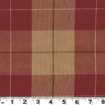 Hempstead CL Cardinal Upholstery Fabric by Roth & Tompkins